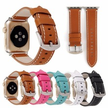 Replacement watchband leather watch strap sport band for apple watch