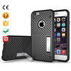 high end box hybrid stand back heat sinking net phone case for iphone 6s