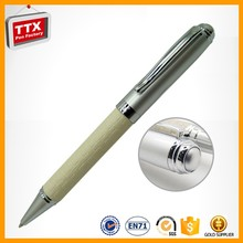 0.7mm White Metal Roller Ball Pen From China Pen Factory