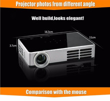 Best quality mini pocket dlp beamer 600 ansi full hd 1080p projector with wifi for party business