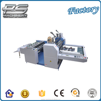 High quality semi automatic thermal&glueless film lamination machine(ISO,CE certification )