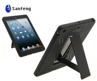 Smart Table Case For iPad Air Plastic And Silicone Combo Hybrid Cases For iPad 5