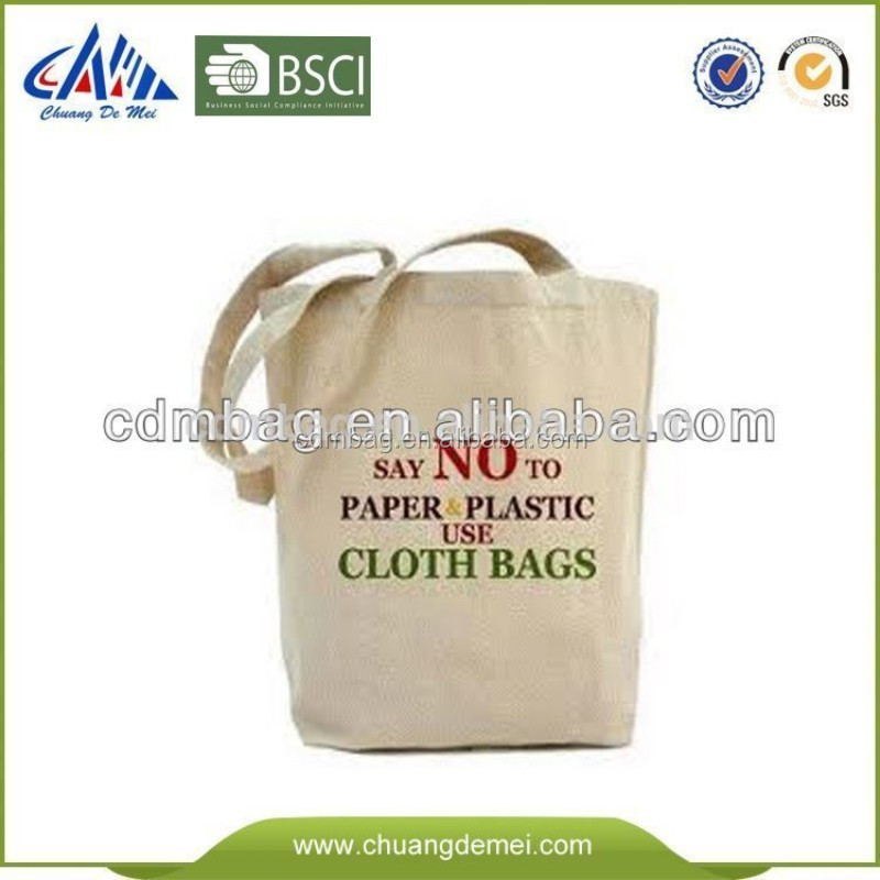 Manufacturer Supply durable and fashionable standard size Cotton Tote Bags for kids