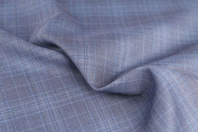 SM-12010 POLYESTER RAYON CHECK school uniform fabric