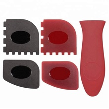 Heat Resistant Silicone Frying Pan Handle , Wholesale Silicone Pot Hot Handle Holder
