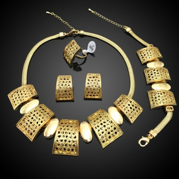 sales well high quality african fashion jewelry set popular