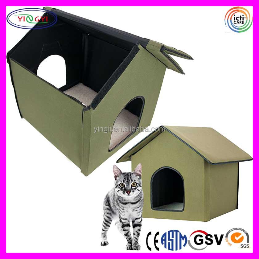 Домик для кошек с подогревом своими руками 83