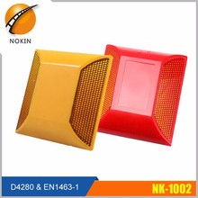 Red, Yellow, White, Blue, Green raised pavement marking road stud reflectors