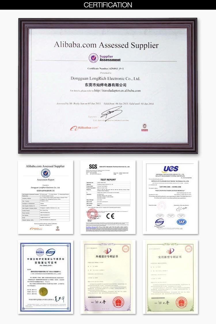 중국 공급 업체 최고의 전자 프로모션 선물 남성