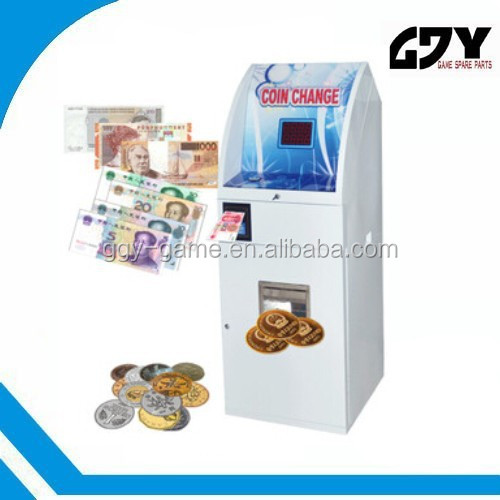 coin operated ice cream vending machine coin in and bill in coin change machine