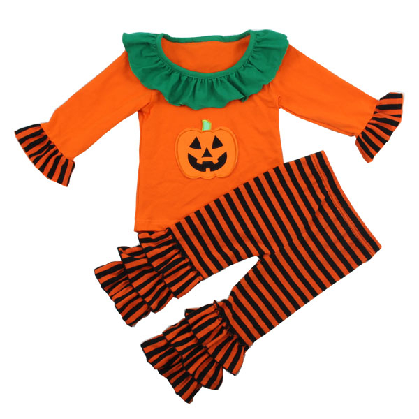 2015 children clothes sets boutique girl clothing fall halloween costumes for 3 year olds