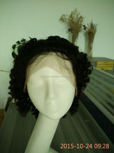 afro kinky curly half wig