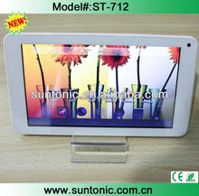 "7"" inch Touch Screen Allwinner A33 1.2GHz CPU Android 4.4 Tablet PC quad Core HDD 512MB WiFi"
