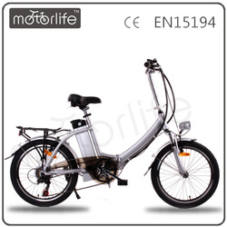 MOTORLIFE/OEM EN15194 250w small folding electric bicycle,Fast electric dirt bikes