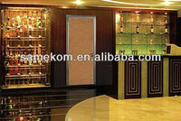 Simple Design Aluminum Door For KTV/Office Room