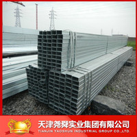 20*30 size Pre-galvanized rectangular steel hollow section