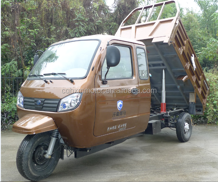 hot sale 300cc trike for cargo delivery with closed cabin