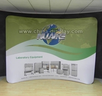 Slim tension fabric stage backdrop