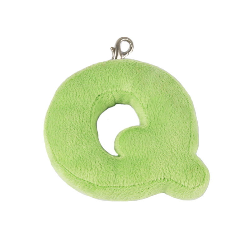 Wholesale Plush Keychain Toy Mini Letter a Keychain