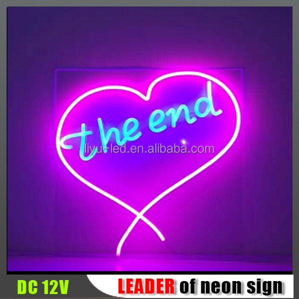 High quality alphabet letter neon sign/Signage