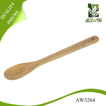 Square handle Oak kitchen wooden spoon