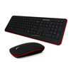 Brand new high quality cheapest computer accessories direct selling Custom Printed vanguard multimedia wired keyboard