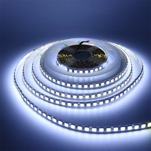 LED Strip 5054 SMD 5M 600LED Non Waterproof Flexible Single Color Led Tape Light Ultra bright 12V