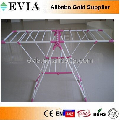 EVIA HEATED drying clothes hanger rail,High quality folding laundry drying rack (with shoe dryer)