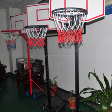 portable adjustable plastic Basketball stand & hoop nets Set