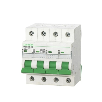 4 Pole 2Amp ETI ETN Mini Circuit Breaker