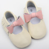Wholesale latest style fashion baby shoes leather baby jane shoes