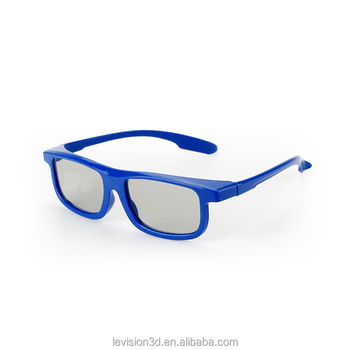 3D Video Glasses for Theatre/Passive 3D Glasses for Cinema, TV, PC/Low Price Circular 3D Glasses