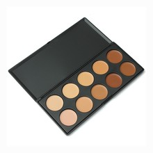 New 10 Color creamy concealer palette, Beauty Pro Face Cream Makeup Concealer Contour Palette Kits