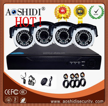 China Cheap CCTV Waterproof Camera System hd Video and Receiver ,OEM IR Bullet Camera System Kits