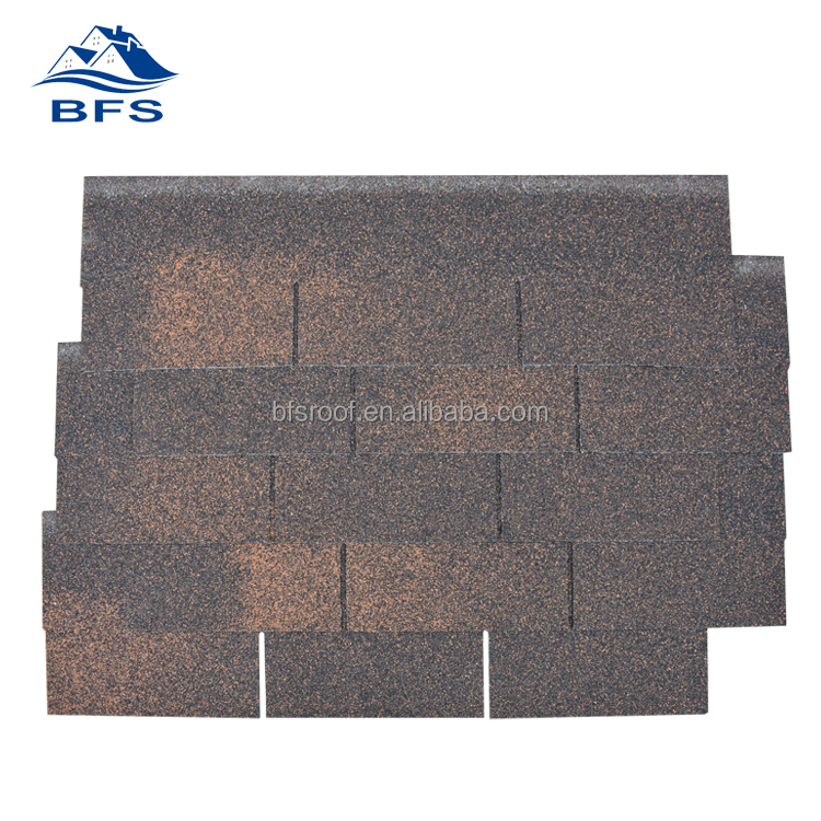 hot sale factory price brown asphalt roofing shingles