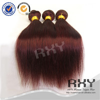 16 18 20inch color 33 curly human hair extensions indian remy human hair