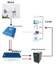 Light Small 600W Residential High-Speed Wind Turbine For Free Energy