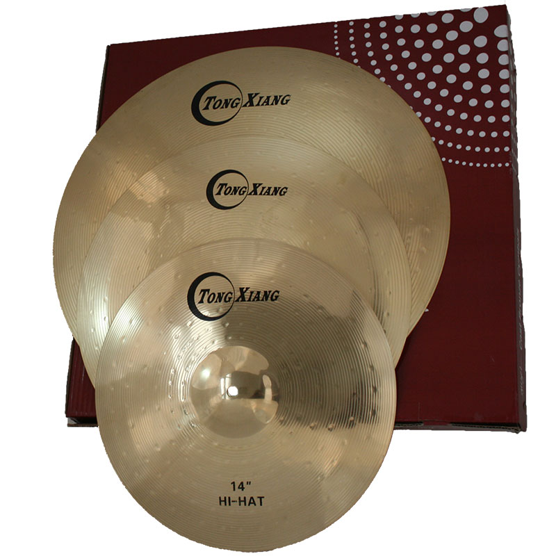TF cymbals for electronic drum set