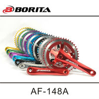 BORITA AF13-148A bicycle fixed gear crankset