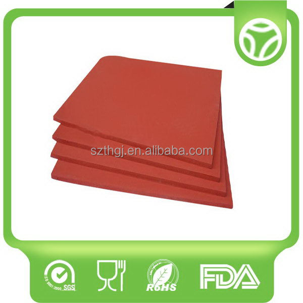 High-end latest food grade silicone foam sheet