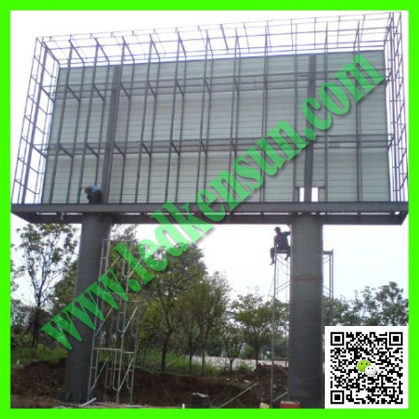 Waterproof traffic LED display led screen outdoor p16mm mobile trailer advertise Energy saving traffic LED display