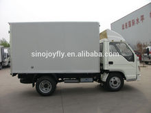 Hot selling mini freezer box truck with CE certificate