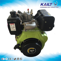 air cooled OHV Single cylinder 4 stroke crankshaft portable small kailt TB188F 10hp diesel engine for boat