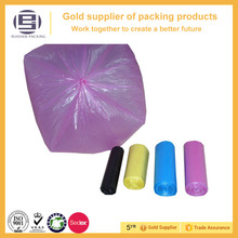 Biodegradable Plastic Colored Garbage Bags On Roll