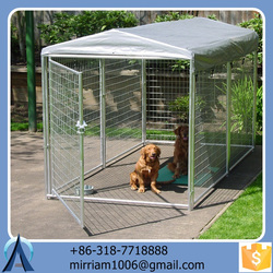 Good-looking new design large outdoor practical well-suited dog kennel/pet house/dog cage/run/carrier