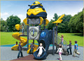 KAIQI classic Robot Series KQ50063A China children favorite outdoor compact playground equipment