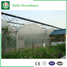 Multi-Span EM Plastic Film Greenhouse for commercial used