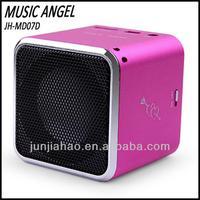 caixa de som fm radio stereo mini speaker 2.0 fm speaker dock station