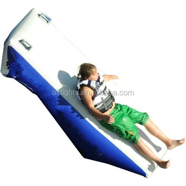Water park games inflatable plunge water slide
