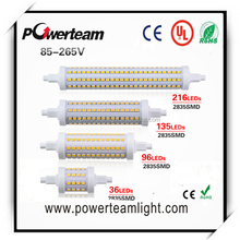7 W 14 W 20 W 25 W SMD2835 85 - 265 V Dimmable 78 mm 118 mm 135 mm 190 mm dipimpin bola jagung, R7s 360 Degree